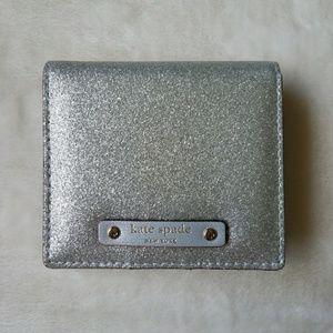 Kate Spade - Haven Lane - Glitter Mini Wall Wallet